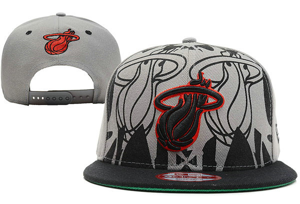 Miami Heat Snapback Hat XDF 26